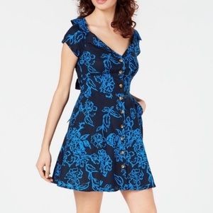 Free people A thing called Love blue dress